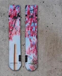 John Wall Cherry Blossom Socks